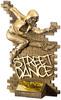 7'' Street Dance Female Antique Gold