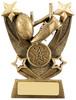 4.5 ''  Trailblazer Rugby Award Antique Gold