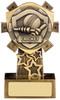 4.25 ''  Mini Shield Cricket Award Antique Gold