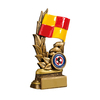 """5.5"""" Linesman's Flag , IMPORTANT - TWO PART ORDER - 1) Click <a href=""""http://graveshamtrophycentre.com/catalogue/1001,0,0-medals-ribbons-boxes"""">Here</a> to order a Centre for this product. 2) Return to this tab to order the Product."""