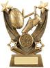 5.5 ''  Trailblazer Rugby Award Antique Gold