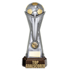 "World Football Top Goalscorer Gunmetal & Gold 260mm, IMPORTANT - TWO PART ORDER - 1) Click <a href=""http://graveshamtrophycentre.com/catalogue/1001,0,0-medals-ribbons-boxes"">Here</a> to order a Centre for this product. 2) Return to this tab to order the Product."