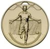 50mm FOOTBALL SCORER MALE MEDAL GOLD