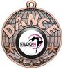 50mm Dance Medal Bronze