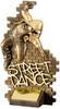 7.25'' Street Dance Male Antique Gold
