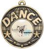 50mm Dance Medal Gold