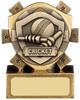 3 ''  Mini Shield Cricket Award Antique Gold