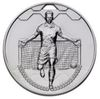 60mm FOOTBALL SCORER MALE MEDAL SILVER