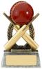 """4"""" ESCAPADE CRICKET AWARD ANTIQUE GOLD"""