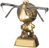 5 ''  Cricket Specs Holder Antique Gold
