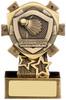3.75'' Mini Shield Badminton Award Antique Gold