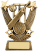 "4.5"" TRAILBLAZER CRICKET AWARD ANTIQUE GOLD, IMPORTANT - TWO PART ORDER - 1) Click <a href=""http://graveshamtrophycentre.com/catalogue/1001,0,0-medals-ribbons-boxes"">Here</a> to order a Centre for this product. 2) Return to this tab to order the Product."