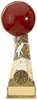 "7.25"" FORZA CRICKET TROPHY ANTIQUE GOLD, IMPORTANT - TWO PART ORDER - 1) Click <a href=""http://graveshamtrophycentre.com/catalogue/1001,0,0-medals-ribbons-boxes"">Here</a> to order a Centre for this product. 2) Return to this tab to order the Product."