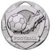50mm FOOTBALL MINI SHIELD MEDAL SILVER