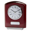 Idaho Crystal & Rosewood Clock Award 152mm