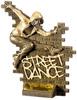 6'' Street Dance Female Antique Gold